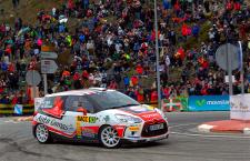 Enrique García Ojeda, flamante ganador del Rallye de Ourense