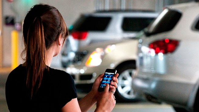 Abrir un coche con el móvil ya es posible