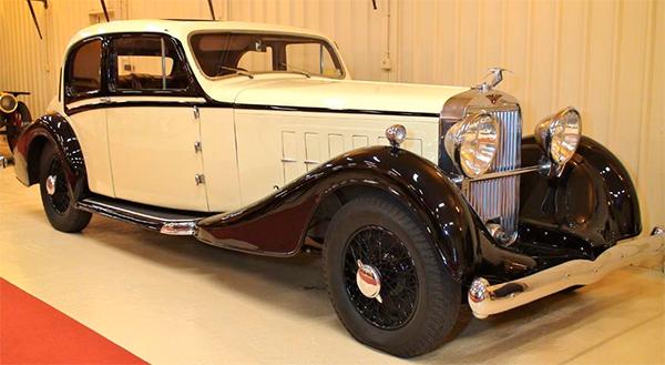 Museo de coches de Rolls Royce
