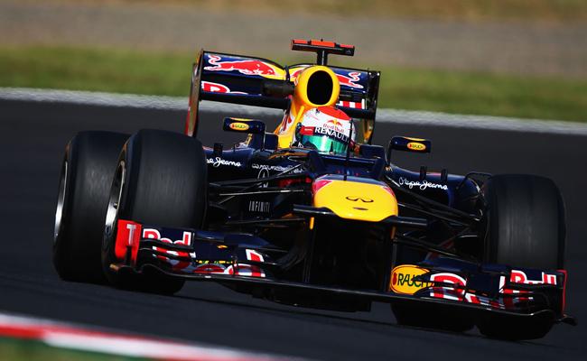 Vettel en Suzuka