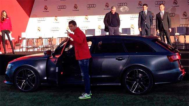 Audi de Cristiano Ronaldo
