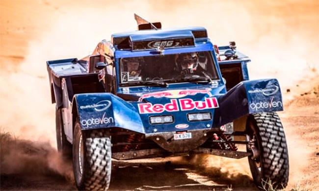 Buggy de Red Bull