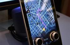 Nuevas pantallas de Panasonic con botones para coches