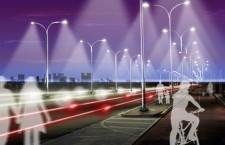 Mayor seguridad en ciudad gracias a las luces inteligentes