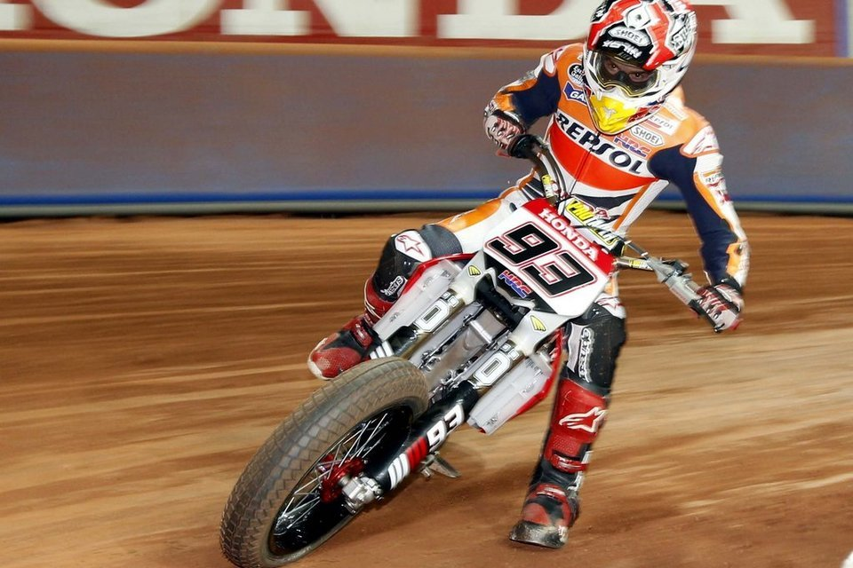 Marc Marcque dirt track
