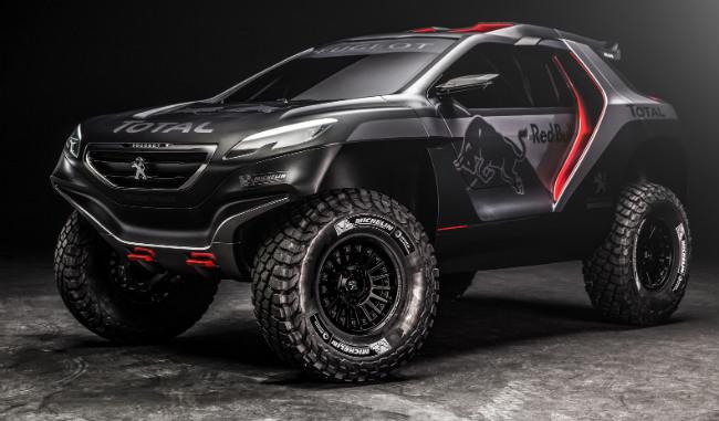 Desvelado el DKR Peugeot 2008, el nuevo coche de Carlos Sainz para el rally Dakar 2015