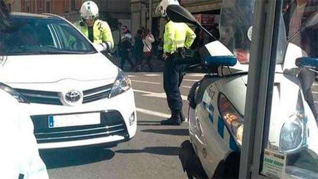 Accidente Aguirre Madrid