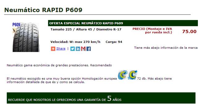 neumatico-rapid-p609