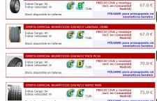 Las ventajas de comprar neumáticos online