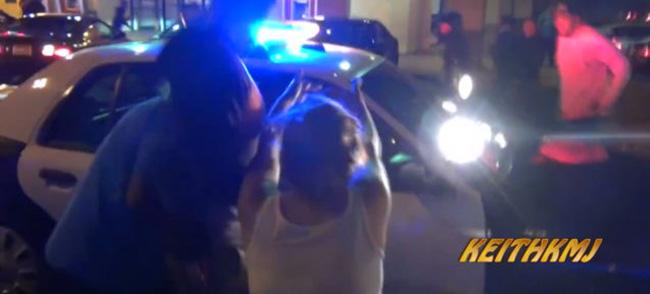 mustang-policia