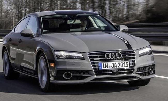 Audi muestra en un vídeo como funciona el A7 Piloted Driving