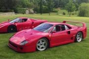 Un joven de 18 años se pone a hacer drifting por el césped con Ferraris