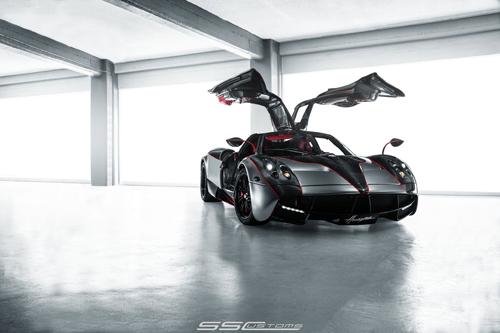 SS Custom rediseña el superdeportivo Pagani Huayra