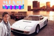 El Ferrari Testarossa de Corrupción a Miami sale a subasta