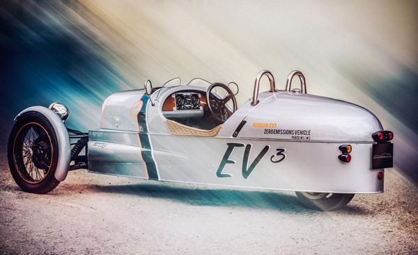 ¿Un deportivo eléctrico y a 3 ruedas? ¡Existe! Se llama Morgan EV3