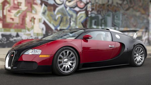 El primer Bugatti Veyron de la historia está disponible