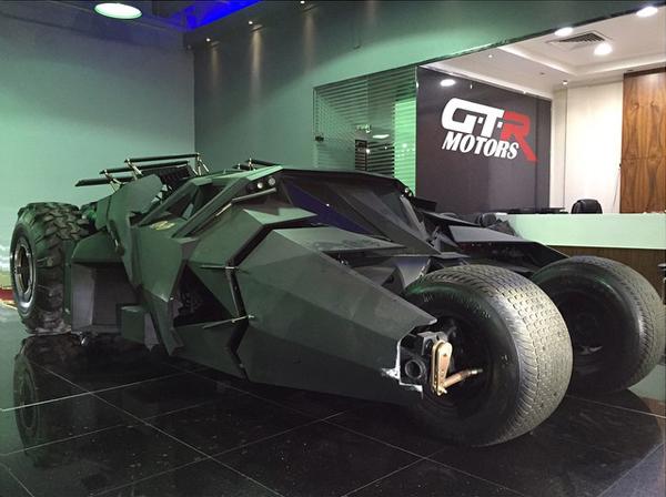 Ya puedes comprar el coche de Batman por 1 millón de euros