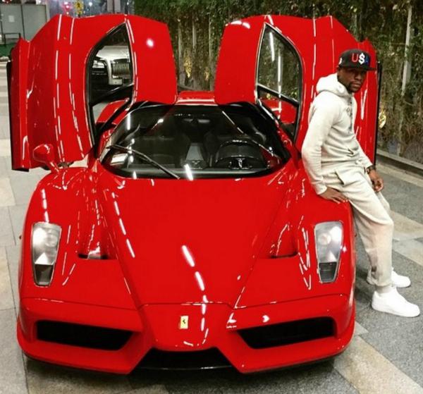 El Ferrari Enzo de Floyd Mayweather ya se ha vendido por 3,3 millones de dólares