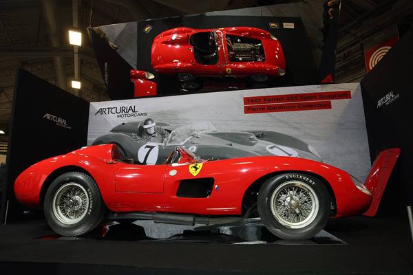 Este es el coche subastado más caro del mundo