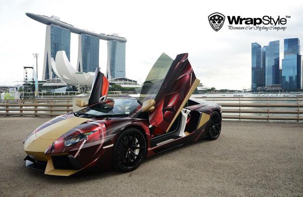 Wrap Style viste a sus superdeportivos de superhéroes